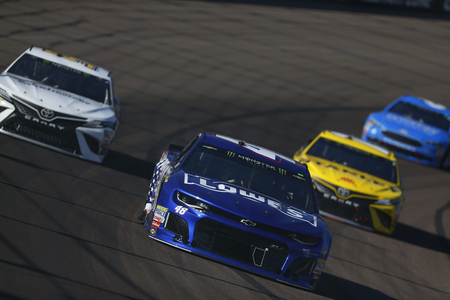 November 11, 2018 - Avondale, Arizona, USA: Jimmie Johnson (48) races during the Can-Am 500(k) at ISM Raceway in Avondale, Arizona. Editorial