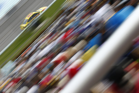 November 18, 2018 - Homestead, Florida, USA: Joey Logano (22) races down the front stretch during  the Ford 400 at Homestead-Miami Speedway in Homestead, Florida.