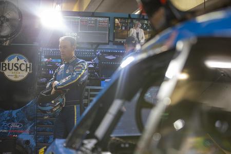 February 23, 2019 - Hampton, Georgia, USA: Kevin Harvick (4) gets ready to practice for the Folds of Honor QuikTrip 500 at Atlanta Motor Speedway in Hampton, Georgia.