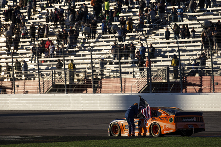 February 24, 2019 - Hampton, Georgia, USA: Brad Keselowski (2) wins the Folds of Honor QuikTrip 500 at Atlanta Motor Speedway in Hampton, Georgia.