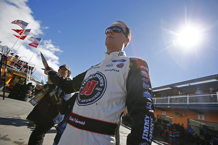 March 02, 2019 - Las Vegas, Nevada, USA: Kevin Harvick (4) gets ready to practice for the Pennzoil 400 at Las Vegas Motor Speedway in Las Vegas, Nevada. Sajtókép
