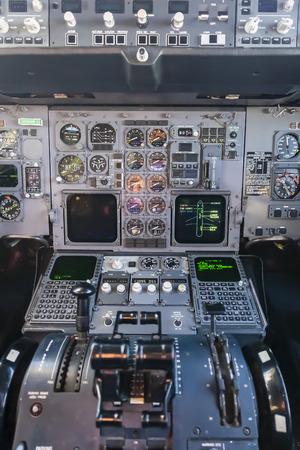 A commercial cargo aircraft interior Фото со стока