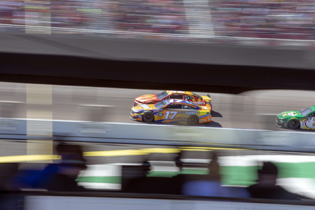 March 10, 2019 - Avondale, Arizona, USA: Ricky Stenhouse, Jr (17) battles for position for the Ticket Guardian 500 at ISM Raceway in Avondale, Arizona.