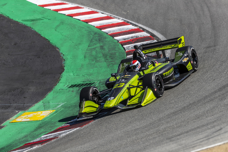 September 20, 2019 - Salinas, California, USA: CHARLIE KIMBALL (23) of the United States  practices for the Firestone Grand Prix of Monterey at Weathertech Raceway Laguna Seca in Salinas, California.