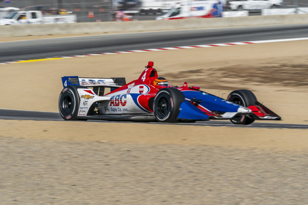September 21, 2019 - Salinas, California, USA: MATHEUS LEIST (4) of Novo, Hamburgo Brazil  practices for the Firestone Grand Prix of Monterey at Weathertech Raceway Laguna Seca in Salinas, California.