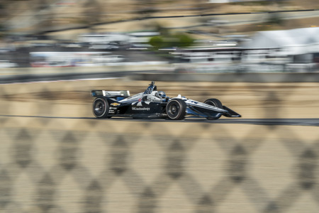 September 21, 2019 - Salinas, California, USA: SIMON PAGENAUD (22) of Montmorillon, France  practices for the Firestone Grand Prix of Monterey at Weathertech Raceway Laguna Seca in Salinas, California 報道画像