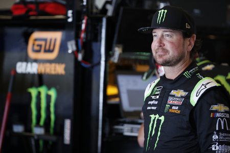 September 07, 2019 - Indianapolis, Indiana , USA: Kurt Busch (1) gets ready to practice for the Big Machine Vodka 400 at the Brickyard at Indianapolis Motor Speedway in Indianapolis, Indiana . 報道画像