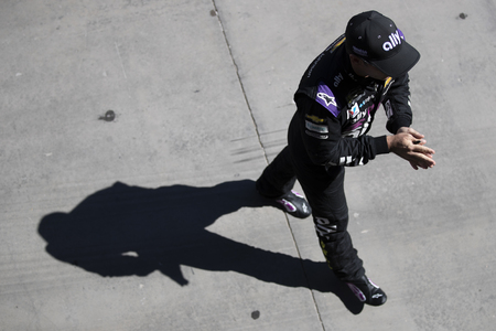 September 13, 2019 - Las Vegas, Nevada, USA: Jimmie Johnson (48) gets ready to practice for the South Point 400 at Las Vegas Motor Speedway in Las Vegas, Nevada.