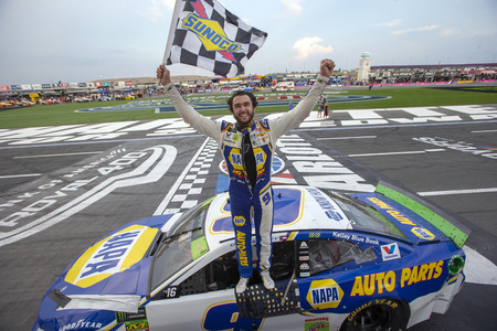 September 29, 2019 - Concord, North Carolina, USA: Chase Elliott (9) wins the Bank of America ROVAL 400 at Charlotte Motor Speedway in Concord, North Carolina.