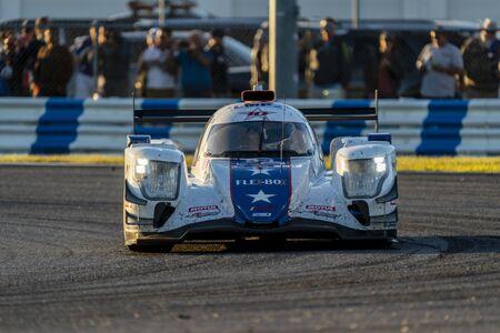 The DragonSpeed USA Oreca LMP2 07 car race for the Rolex 24 At Daytona at Daytona International Speedway in Daytona Beach, Florida. Publikacyjne