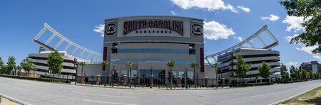 May 06, 2020 - Columbia, South Carolina, USA: Williams-Brice Stadium is the home football stadium for the South Carolina Gamecocks, representing the University of South Carolina in Columbia, South Carolina