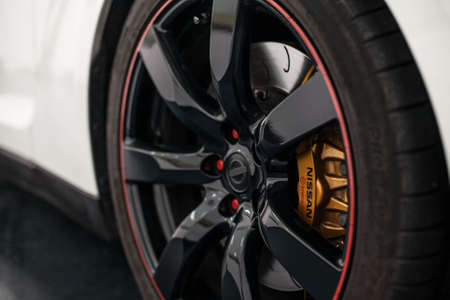 wheel closeup Editorial