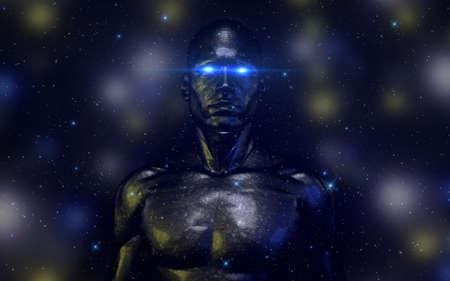 inteligencia: HiTech Android Robótica Modelo masculino V1