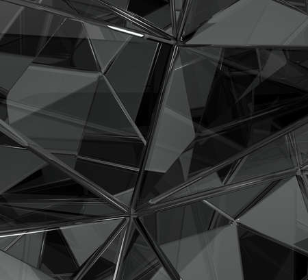 hi tech background: Abstract Minimal Glass Reflections Background