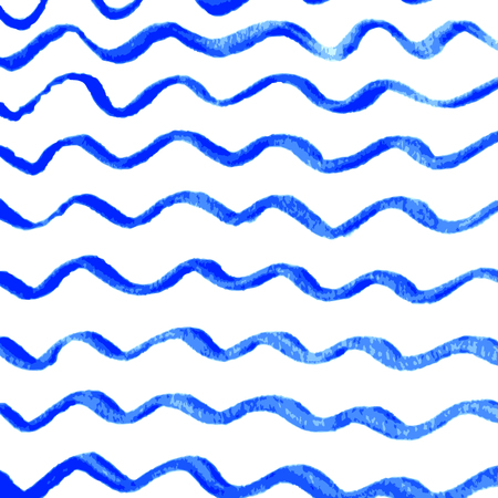Watercolor wave background with empty space for your text