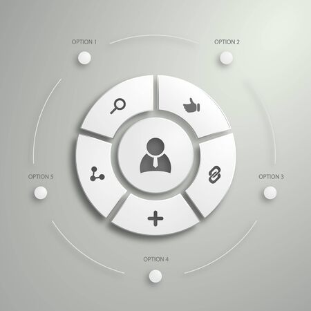Flat Mobile UI Design. Polygon  infographics design.