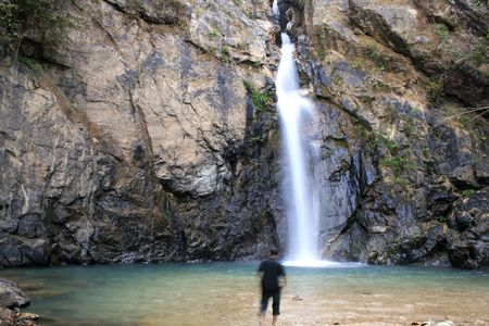 vocation: Waterfall on vocation Stock Photo
