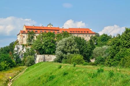 benedict: Beautiful historic monastery. Benedictine abbey in Tyniec near Krakow, Poland.