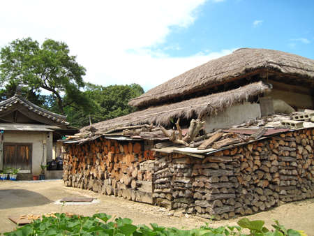 korean style house: Hanok, traditional korean house