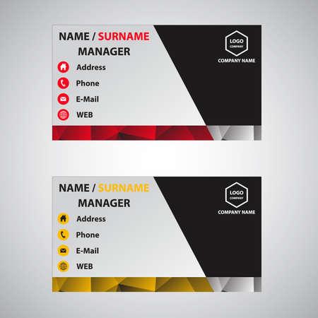 identity card: Business card