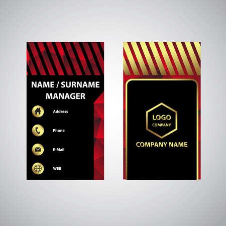 üzlet: Business card