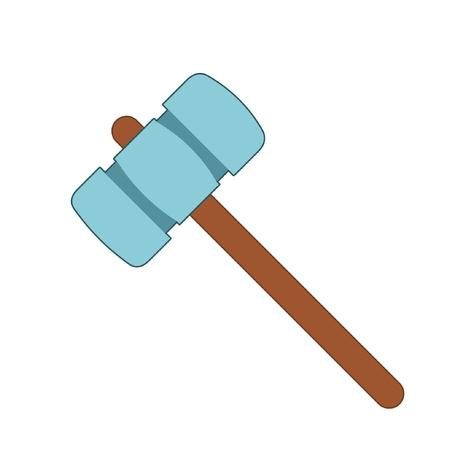 carpentry cartoon: hammer