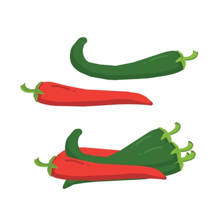 peppers: peppers Illustration