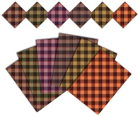 caro warm pattern Ilustração