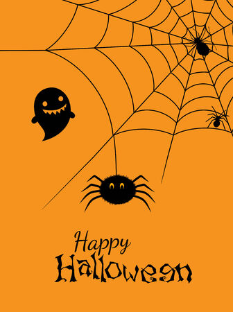 Vector illustration of spiders web Vector