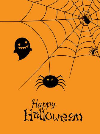 Vector illustration of spiders web Illustration