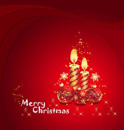 gorgeous christmas vector Vector