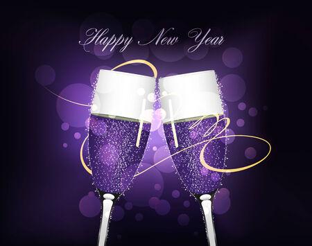 happy new year 2014 Vector