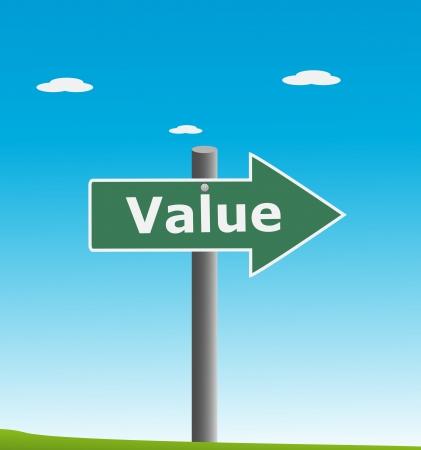 short phrase:  Value Illustration