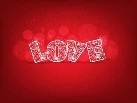 Love for valentines Vector
