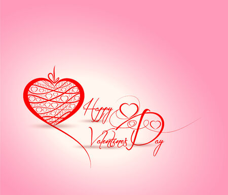 Happy Valentine background Vector