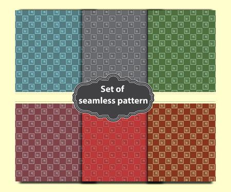 square caro dashed pattern