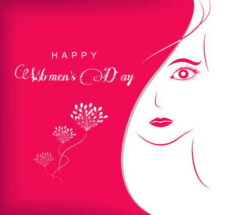 Women s day abstract background