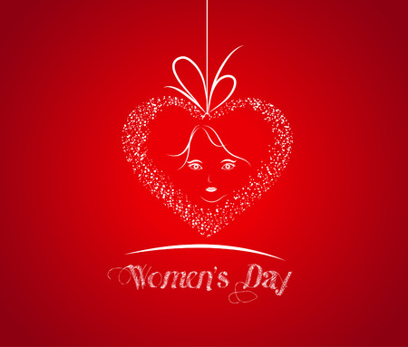 women s day: Women s day abstract background