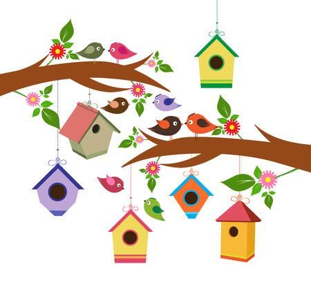 Birdhouse for spring