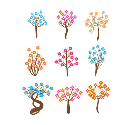 florescence: spring tree Illustration