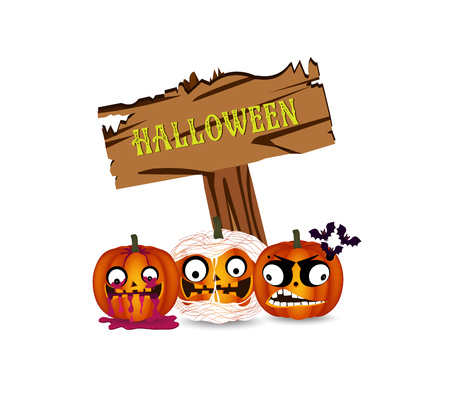 treating: Halloween pumpkins