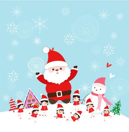 тундра: Рождество с Санта-Клаусом и детей смешные
