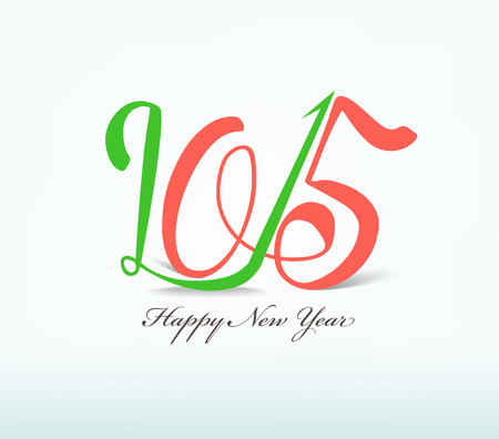 happy new year text: happy new year text design