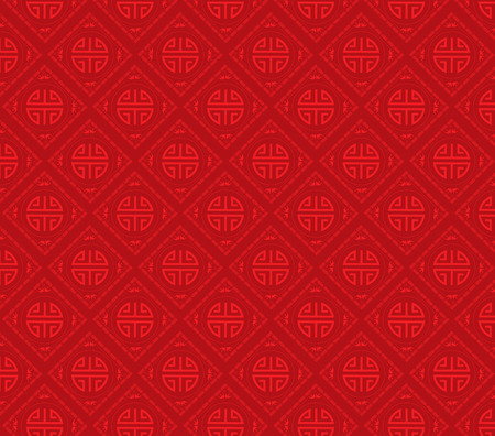 patterns vector: Oriental Chinese new year Background