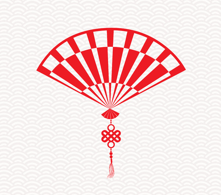 fortuna: Chinese folding fan means