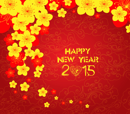 new years parties: chinese new year template background