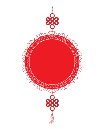 Oriental Happy Chinese New Year Element
