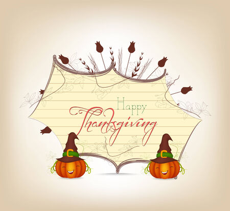 grateful: grateful heart thanksgiving greeting card Illustration