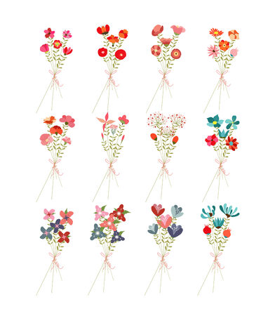 clip art: Flower Bouquets Clip Art