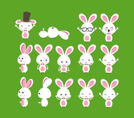 orthodox easter: Cute bunnies
